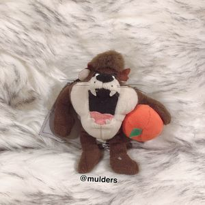 Vintage Warner Bros Taz Plush